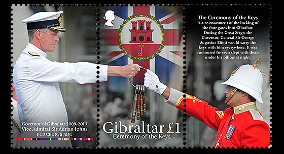 Ceremony of the Keys / Governor of Gibraltar Set