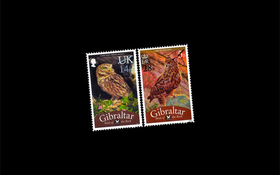 Definitive 'Birds' Overprint