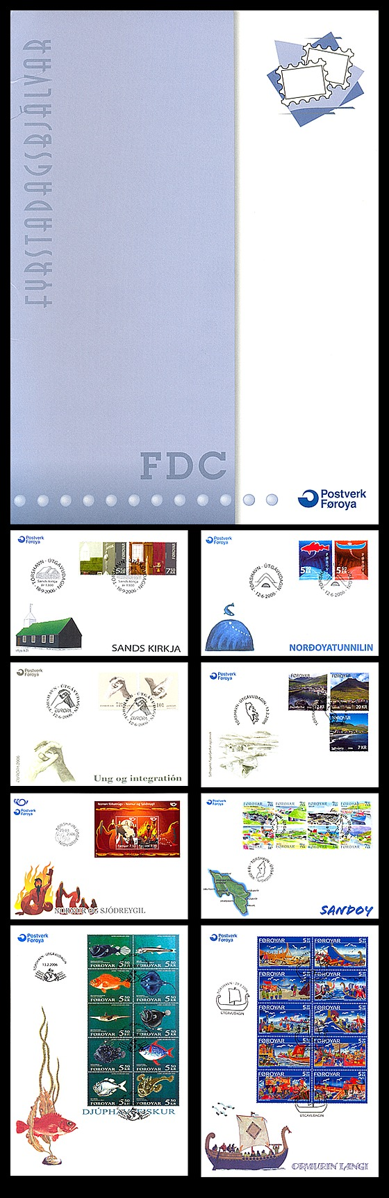 2006 FDC Folder Annual Product