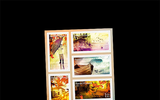 Autumn Stamps