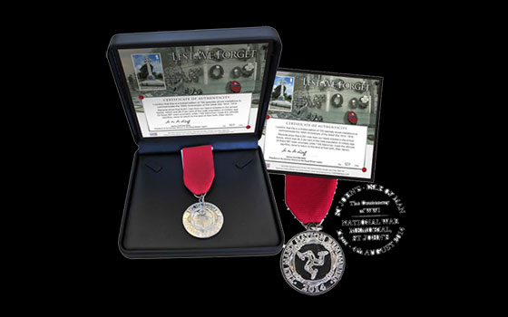 World War I Commemorative Medallion CS