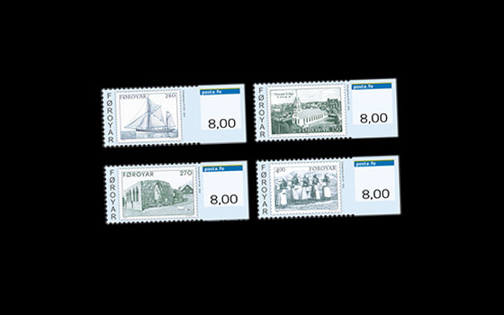 Franking Labels 2014: Faroese Stamps for 40 years