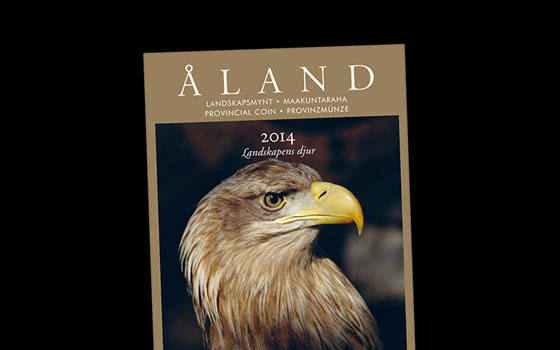 White-Tailed Eagle on Provincial Coin Set 2014