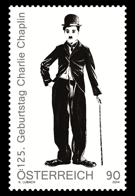 125th Anniversary of the Birth of Charlie Chaplin Set