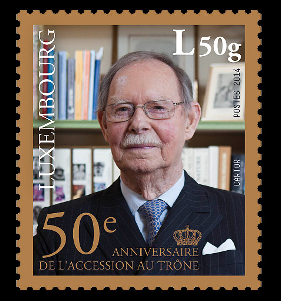50th Ann of the Accession to the Throne of H.R.H Grand Duke Jean Set
