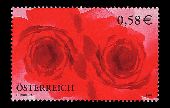 love at face value official austria 2002 stamps for stamp