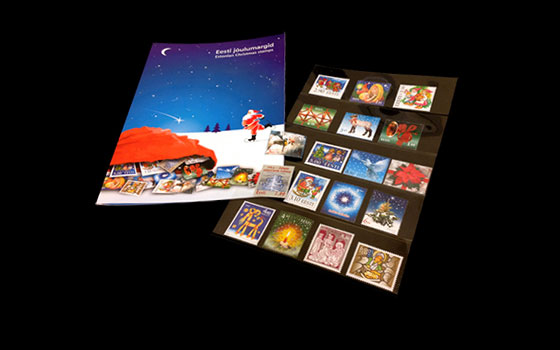 Estonian Christmas Stamps (1996-2004)