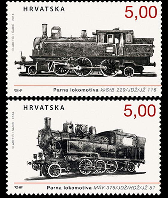 Locomotives 2014 Set