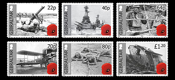 Centenary of World War I Part II Set