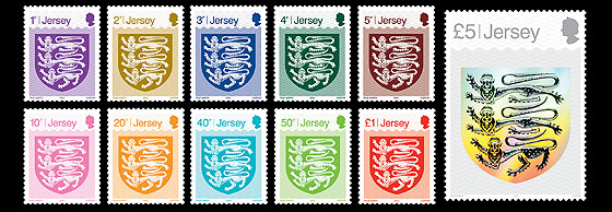 2015 Definitives - The Crest of Jersey Set