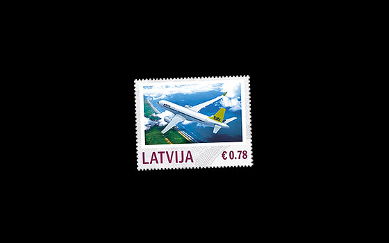 Personalised stamp - Aviation 2014 SI