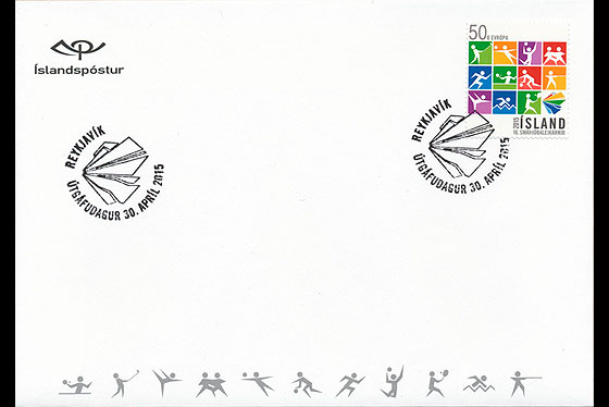 Games of the Small States of Europe First Day Cover