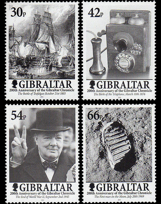 200 Years of the Gibraltar Chronicle Set
