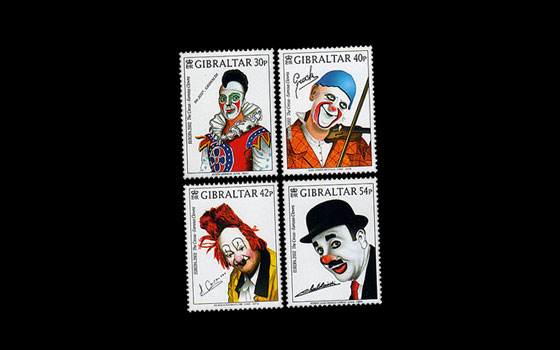 Europa 2002 'The Circus, Famous Clowns' SI