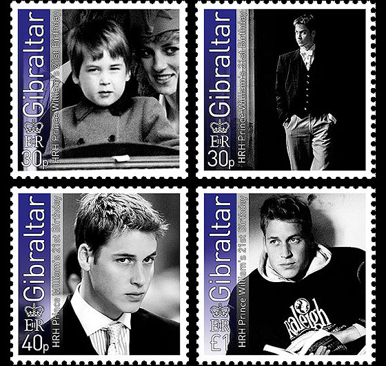 Prince William 21st Birthday Set