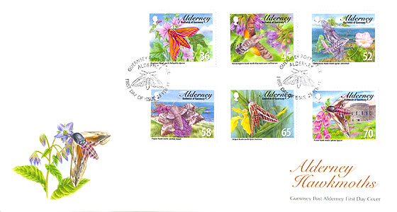 Hawkmoths First Day Cover