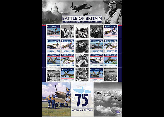 The Battle of Britain 75th Anniversary Sheetlets