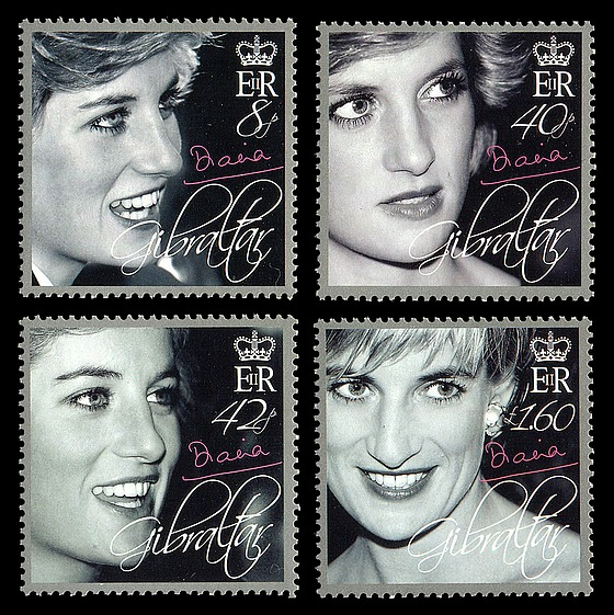 Diana, Princess of Wales Tribute Set