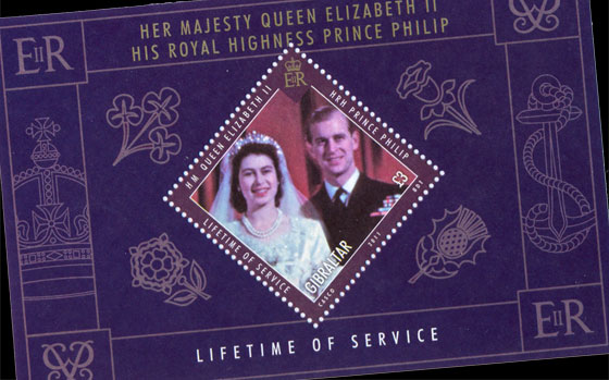 HM QE II, Prince Philip 'Lifetime of Service' SI