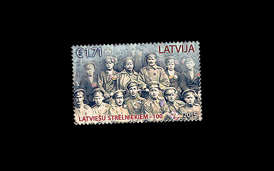 100th Anniversary of Latvian Riflemen  SI