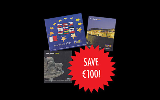 Year Pack Offer 2 (2004,2005 & 2006)  SAVE €100