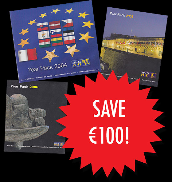 Year Pack Offer 2 (2004, 2005 & 2006) SAVE €100 Annual Product