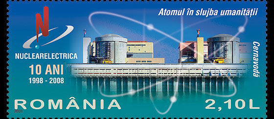 The Atom in the Service of Humanity (Nuclearelectrica - 10 Years of Existence) Set