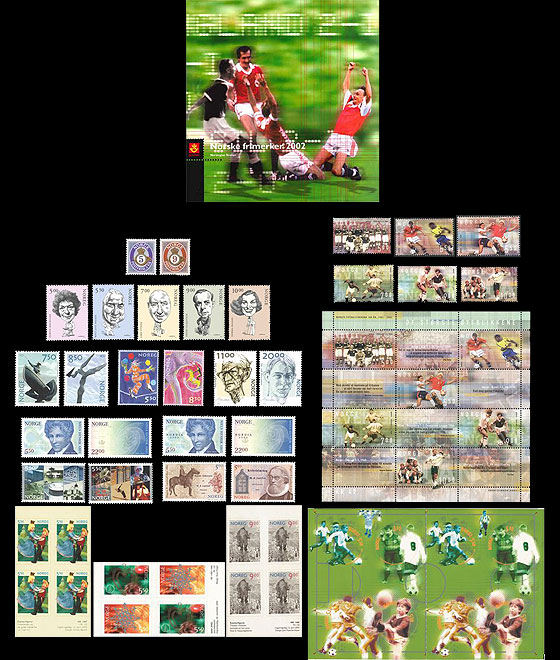 Year Set 2002 (Catalogue Price) Annual Product