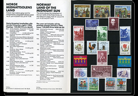 Year Set 1984 (Catalogue Price) Annual Product