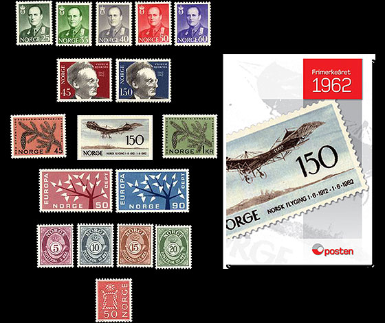 Year Set 1962 (Catalogue Price) Annual Product