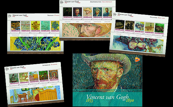 Special Presentation Pack - Van Gogh (International) Presentation Pack