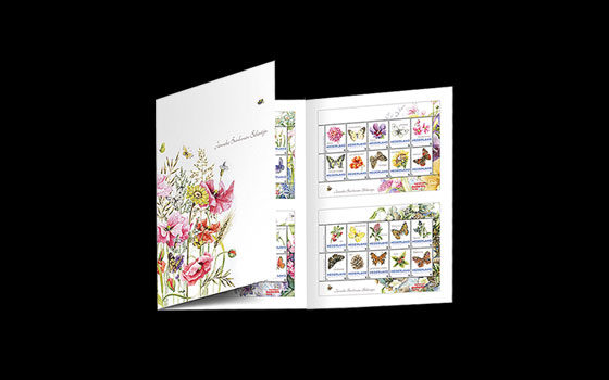 Special Presentation Pack - Flowers and Butterflies SI