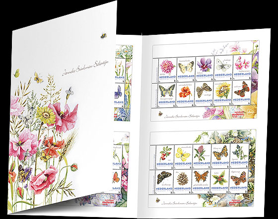 Special Presentation Pack - Flowers and Butterflies Presentation Packs
