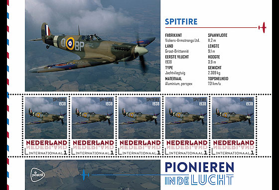 Personalised Sheet - Spitfire Sheetlets