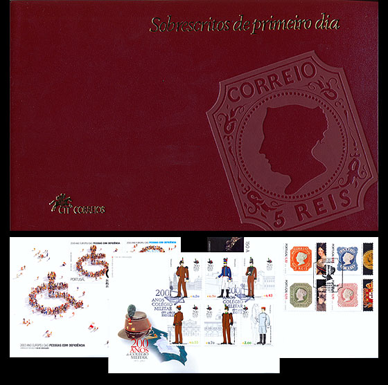 First Day Cover Album 2003 Annual Product
