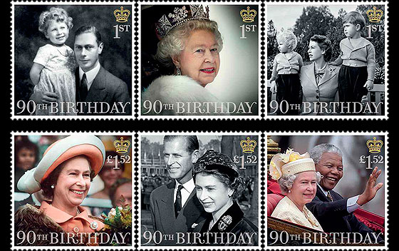 HM The Queen's 90th Birthday Set Set