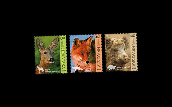 Croatian Fauna - Woodland Animals SI
