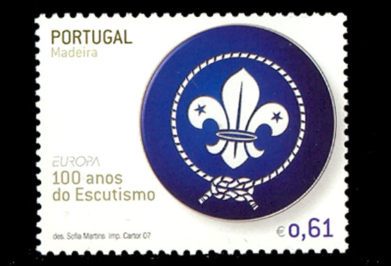 Europa - 100 years of Scouting - Madeira Set