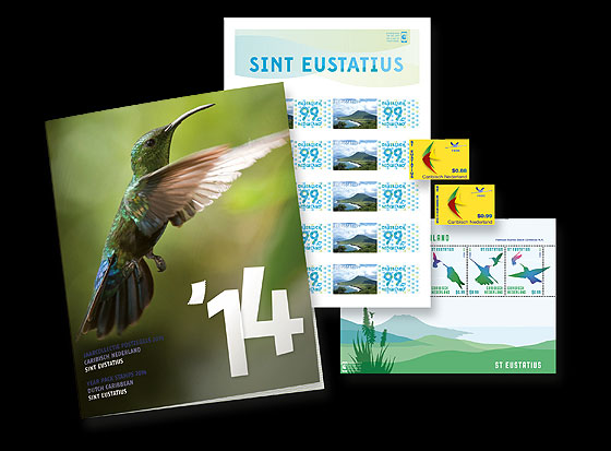 Year Pack 2014 (St. Eustatius)  Year Collections