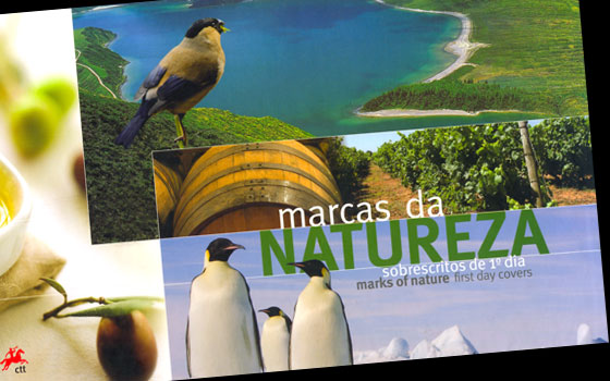Marks of Nature FDCs Book