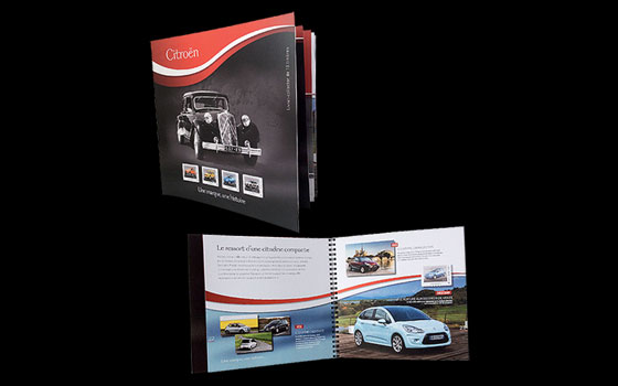 Citroen Stamp Booklet