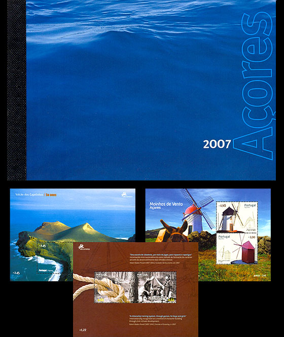 AZORES 2007 (MS Booklet) Annual Product
