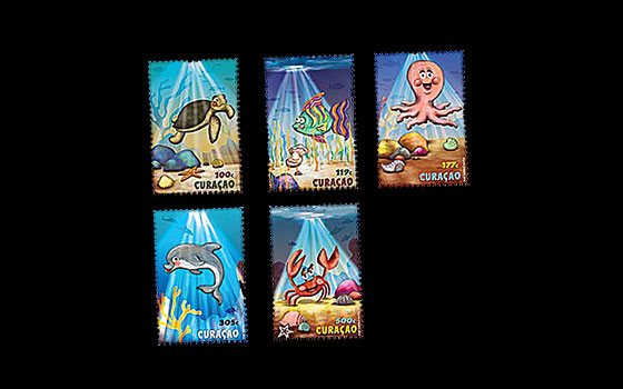Youth Care Stamps: The Ocean