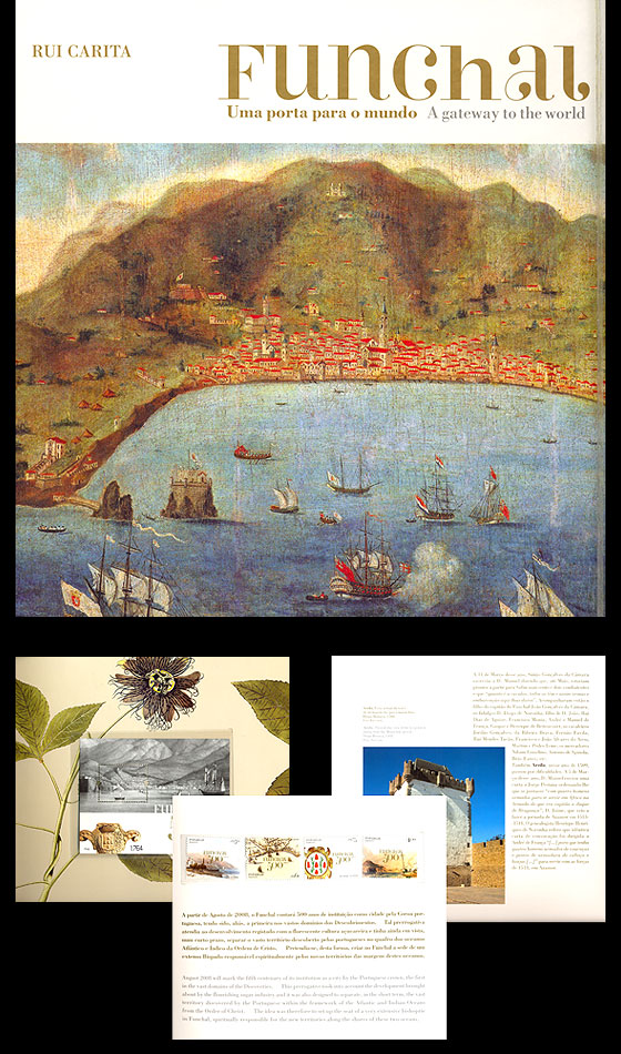 Funchal Book Stamp Booklet