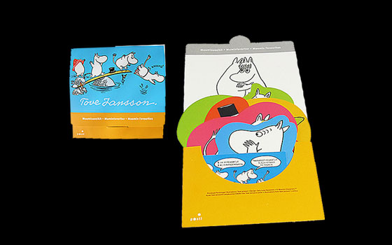 Moomin Pack 2013 - Stamp booklet and six postcards