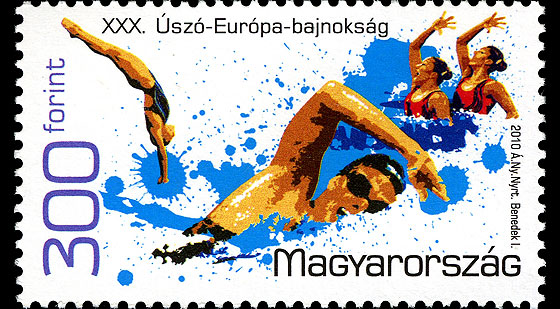 The 2010 LEN European Swimming, Diving, Synchronised Swimming and Open Water Swimming championships Set