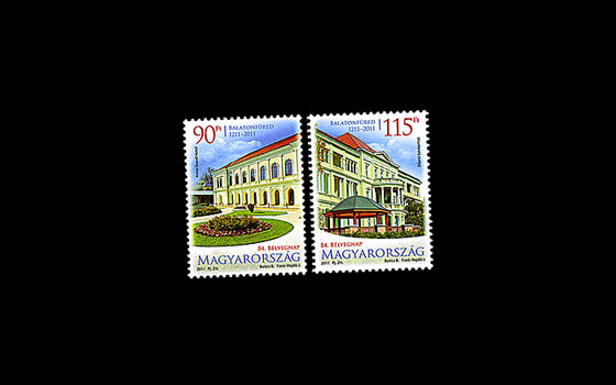 84th Stamp Day- Balatonfured is 800 years old SI