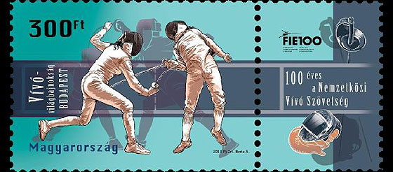 World Fencing Championships, Budapest - Centennial of the International Fencing Federation Set