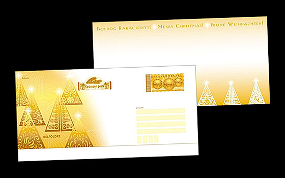 Postage Paid Christmas Envelope