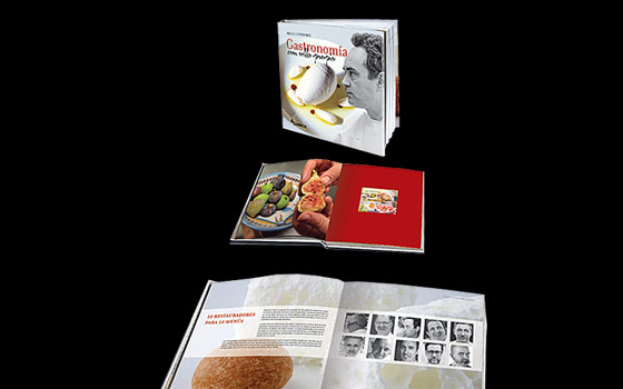 Thematic Book - Gastronomy with Stamp
